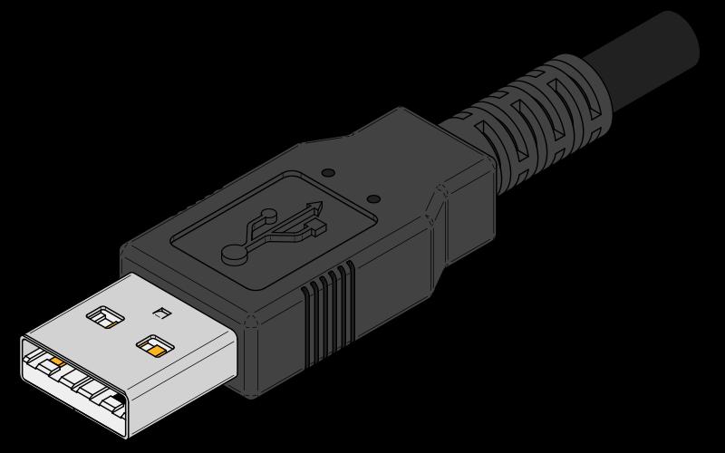 Символом USB являются четыре